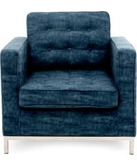 Vivonia Trendy - Warehouse 1 Křeslo Ben, tmavě modré