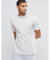 ASOS Loungewear - Ausgesteltles T-Shirt mit Rollkragen - Weiß