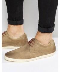 Base London - Concert - Chaussures en cuir - Beige
