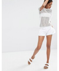 Nike - Full Flex - Short à superposition - Blanc