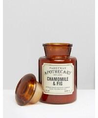Paddywax - Apothecary - Kerze, 8 g - Kamille und Feige - Braun