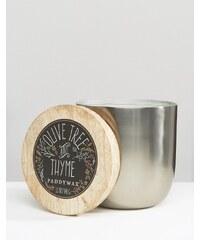 Paddywax - Gegossene Kerze, 12 g - Olivenbaum und Thymian - Silber