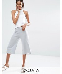 Stitch & Pieces - Jupe-culotte - Gris
