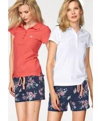 KangaROOS Damen Poloshirt (Packung 2 tlg.) rot 32,34,36,38,40,42,44,46,48,50