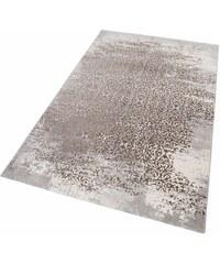 MERINOS Teppich merinos Gayla Vintage Hoch-Tief-Effekt braun 2 (B/L: 80x150 cm),3 (B/L: 120x170 cm),4 (B/L: 160x230 cm),6 (B/L: 200x290 cm)