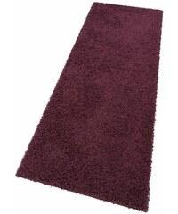Bruno Banani Hochflor-Läufer Shaggy 50 Höhe 50 mm maschinell getuftet lila 11 (B/L: 67x230 cm),13 (B/L: 90x250 cm)