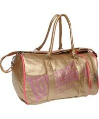 Sportovní taška Lonsdale Sports dám. zlatá