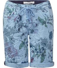 Cecil - Short à fleurs New York - arctic bleu