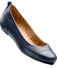 bpc bonprix collection Ballerines compensées en 2 largeurs, chaussant normal bleu avec 1 cm talon compenséchaussures & accessoires - bonprix