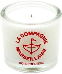 La Compagnie Marseillaise Bois précieux - Bougie parfumée - rouge
