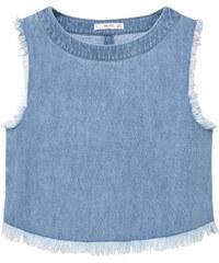 MANGO Jeans-Top Aus Tencel