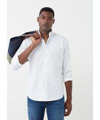 MANGO MAN Strukturiertes Slim Fit Hemd