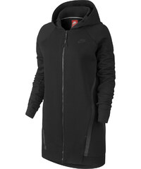Nike Tech Fleece Cocoon Mesh W Hooded Zipper black