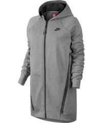 Nike Tech Fleece Cocoon Mesh W Hooded Zipper carbon