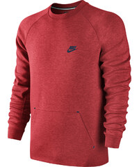 Nike Tech Fleece Crew-1MM Sweater red/obsidian