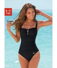 Große Größen: Badeanzug, LASCANA, schwarz, Gr.36 (70)-46 (95)
