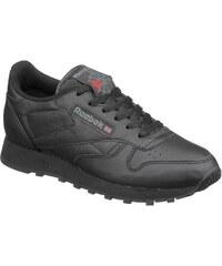 Große Größen: Reebok Sneaker »Classic Leather W«, schwarz, Gr.36-42