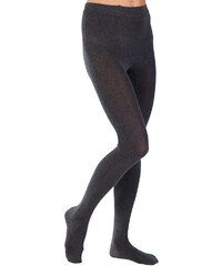 Große Größen: Strick-Strumpfhose, Hudson, schwarz, Gr.1 (43-45)-4 (49-51)