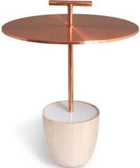 ?Love, Ana. Lampe Nomade en Cuivre et Bois - Traveller Lamp