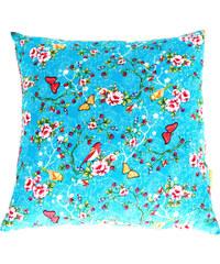 Lola y Lolo Taie d'Oreiller Enfant - Turquoise Butterflies