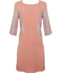 Laurie-Anne Fritz Robe Corail Manches 3/4 - Brune