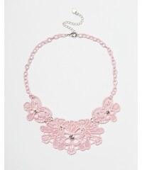 Lipsy - Collier avec motif filigrane - Rose
