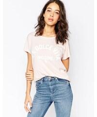 South Parade - La Dolce Vita - T-shirt - Rose
