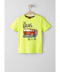 s.Oliver Printshirt mit Feuerwehr-Motiv