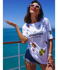 Diamante Chicks Adventure White