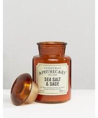 Paddywax - Apothecary - Kerze, 8 g - Meersalz und Salbei - Braun