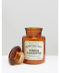 Paddywax - Apothecary - Kerze, 8 m - Verbene und Eukalyptus - Braun