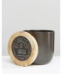 Paddywax - Gegossene Kerze 12 g - Tabak und Vanille - Schwarz