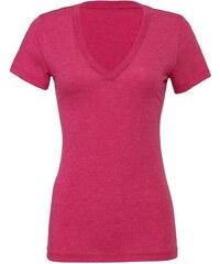 e5013611b1e4 Bella + Canvas Dámske melírované tričko V-neck