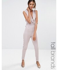 Missguided Tall - Combinaison style smoking - Gris