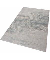MERINOS Teppich merinos Danica Vintage Hoch-Tief-Effekt blau 2 (B/L: 80x150 cm),3 (B/L: 120x170 cm),4 (B/L: 160x230 cm),6 (B/L: 200x300 cm)