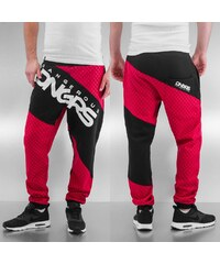 Dangerous DNGRS Toco Sweat Pants Red/Black
