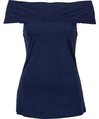 BODYFLIRT Carmen Top in blau (Carmen-Ausschnitt) für Damen von bonprix