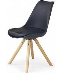 Jídelní židle K201, černá