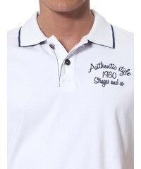 Paul Stragas Pánské polo tričko PS-222-506-WHITE
