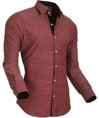 Style Over Pánská košile SO-5012-02_red