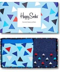 Happy Socks - Souprava kalhotky + ponožky Triangle