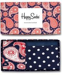 Happy Socks - Souprava kalhotky + ponožky Paisley