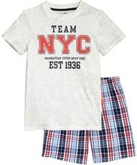 H&M Vzorované bavlněné pyžamo