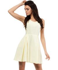 Žluté šaty MOE 026