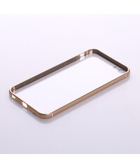 Lesara Hülle mit metallisch-glänzendem Rand für Apple iPhone - Gold - Iphone 6 / 6s