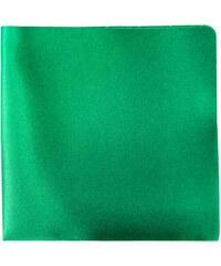 Avantgard Smaragdový jednobarevný kapesníček