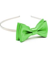 089301e14c1 Avantgard Světle zelená čelenka s motýlkem