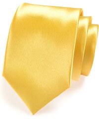 Avantgard Žlutá jednobarevná kravata_