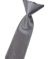 Avantgard Grafitová chlapecká jednobarevná kravata_