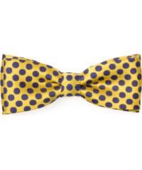 Avantgard Žlutý motýlek s modrými puntíky